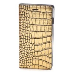 ゲイズ GAZE iPhone6 Plus Gold Croco Diary(ゴールド)