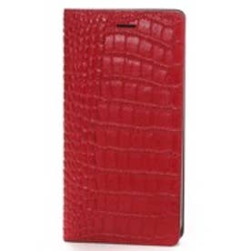 ゲイズ GAZE iPhone6 Plus Vivid Croco Diary レッド(レッド)