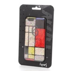 アイキンス iKins iPhone6 天然貝ケース Mondrian ブラックフレーム(Mondrian ブラック)