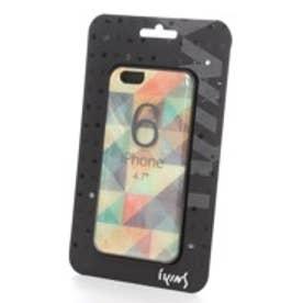 アイキンス iKins iPhone6 天然貝ケース Mosaic ブラックフレーム(Mosaic ブラック)