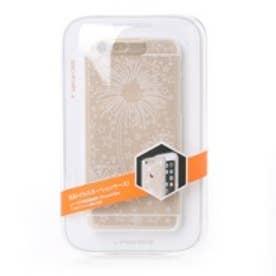 エスジー SG iPhone6s/6 Clear Shield イルミネーションケース(ゴールド ファイヤーフラワー)