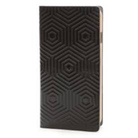 エスエルジーデザイン SLG Design iPhone6 D4 Metal Leather Diary(ブラック)