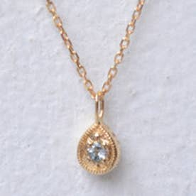 ソーイ sowi 【K18・誕生石】12の宝石のしずくたち 3月 (アクアマリン)
