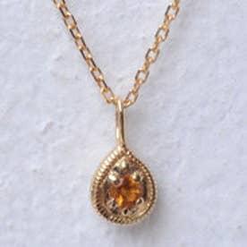 ソーイ sowi 【K18・誕生石】12の宝石のしずくたち 11月 (シトリン)
