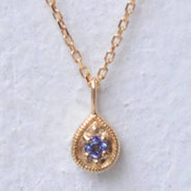 ソーイ sowi 【K18・誕生石】12の宝石のしずくたち 12月 (タンザナイト)