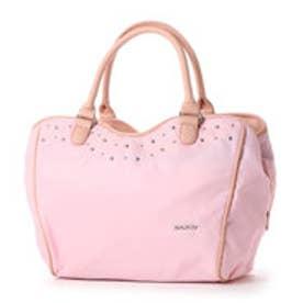 サボイ SAVOY ナイロン系素材の光沢があるバッグ (ピンク)