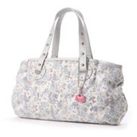 サボイ SAVOY 上品さが魅力の淡い色合いの生地を使用したバッグ (グレー)