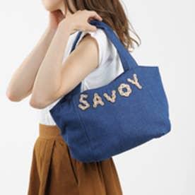 サボイ SAVOY ハンドバッグ(ブルー)