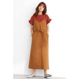 ◆Free's Mart 別注《Dickies 》キャミジャンパースカート ブラウン