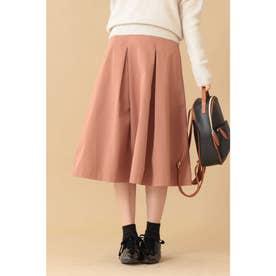 ◆ボックスタックフレアスカート ピンク