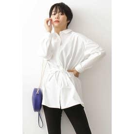 ◆ウエストドロストチュニックシャツ オフ