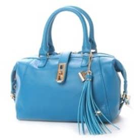 ラ バガジェリー LA BAGAGERIE レザー 2wayミニボストンバッグ (BLUE)