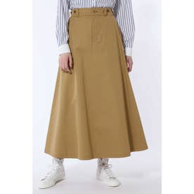 ヴィンテージ風チノロングスカート◆ ベージュ