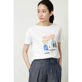 ◆イラストレーターコラボTシャツ シロ