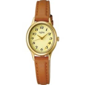 SEIKO アルバ ALBA ingenu カジュアルレザーバンドモデル 腕時計 国産 レディース AHJK421