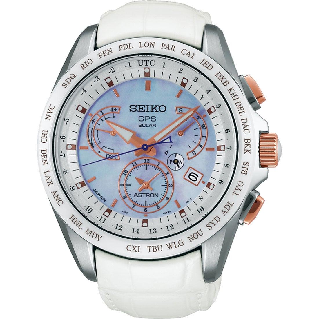 【SALE 10%OFF】SEIKO アストロン ASTRON 9Xシリーズ デュアルタイム ソーラーGPS 国産 メンズ SBXB063
