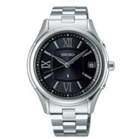 SEIKO ルキア LUKIA スーパークリア コーティング COMFOTEXコンフォテックス 腕時計 国産 レディース(シルバー)
