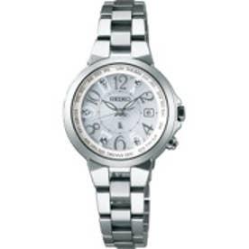 SEIKO ルキア LUKIA ワールドタイム ソーラー電波 チタンモデル 腕時計 国産 レディース SSQV001