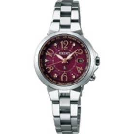 SEIKO ルキア LUKIA ワールドタイム ソーラー電波 チタンモデル 腕時計 国産 レディース SSQV003
