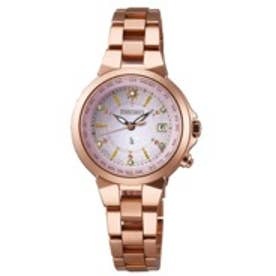 SEIKO ルキア LUKIA ソーラー 腕時計 レディース(シルバー)