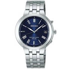 SEIKO スピリット SPIRIT ソーラー電波修正 サファイアガラス 日常生活用強化防水(10気圧) ペア 腕時計 国産 メンズ SBTM185