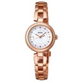 SEIKO ティセ TISSE ソーラー 腕時計 レディース(シルバー)