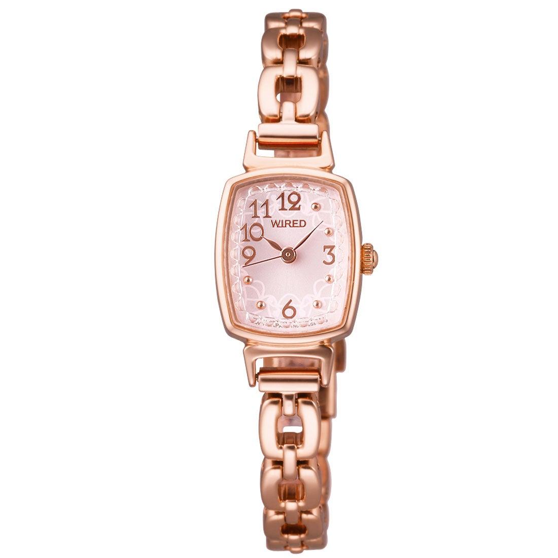 640f2d0120 SEIKO ワイアード WIRED f(エフ) トリンドル玲奈着用モデル 腕時計 国産 レディース(シルバー) -靴&ファッション通販  ロコンド〜自宅で試着、気軽に返品