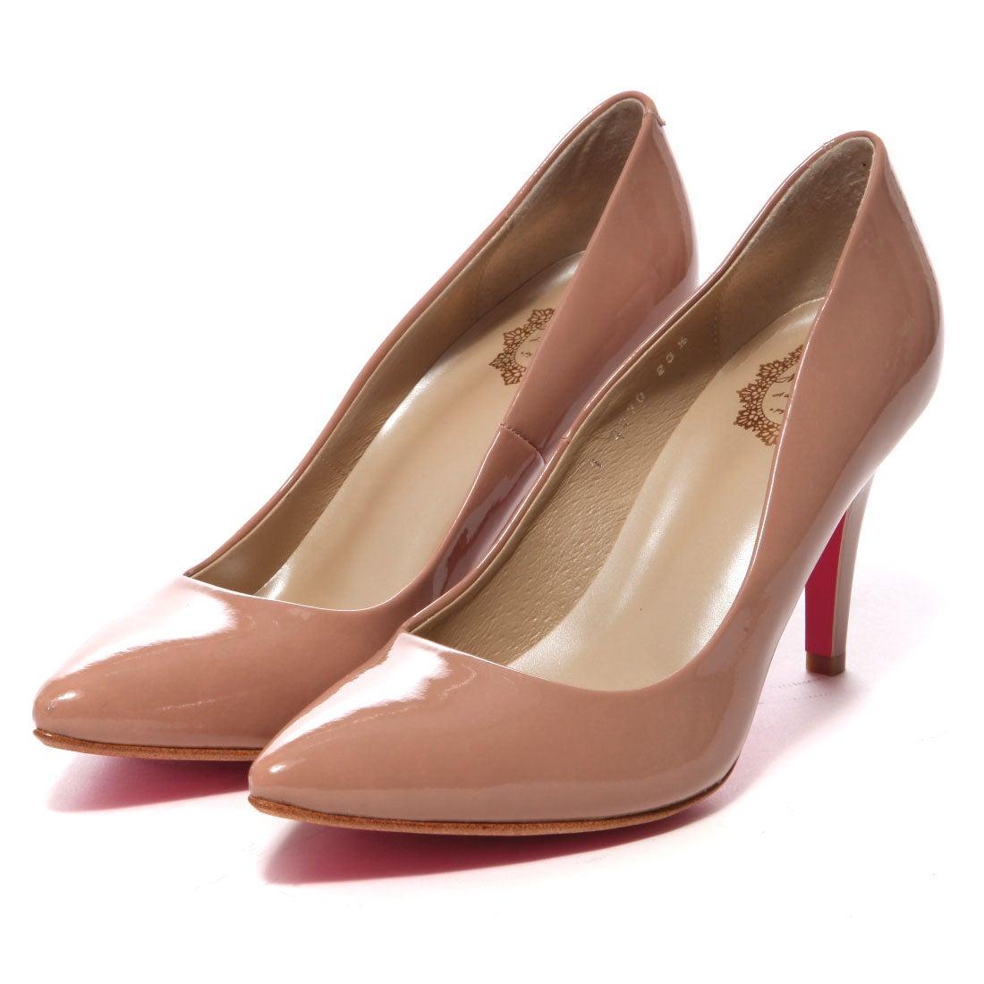 MODE CLASSE モード クラッセ Mode Classe パンプス (ピンクベージュエナメル) ,靴とファッションの通販サイト ロコンド