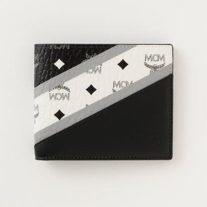 size 40 c51bd 4cf93 ギルドプライム GUILD PRIME 【MCM】二つ折り財布 VISETOS MXS9SCV30 (ブラック)