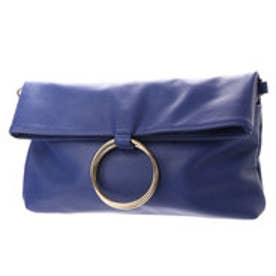 モニカ MONICA リングクラッチ&ショルダー (ブルー)