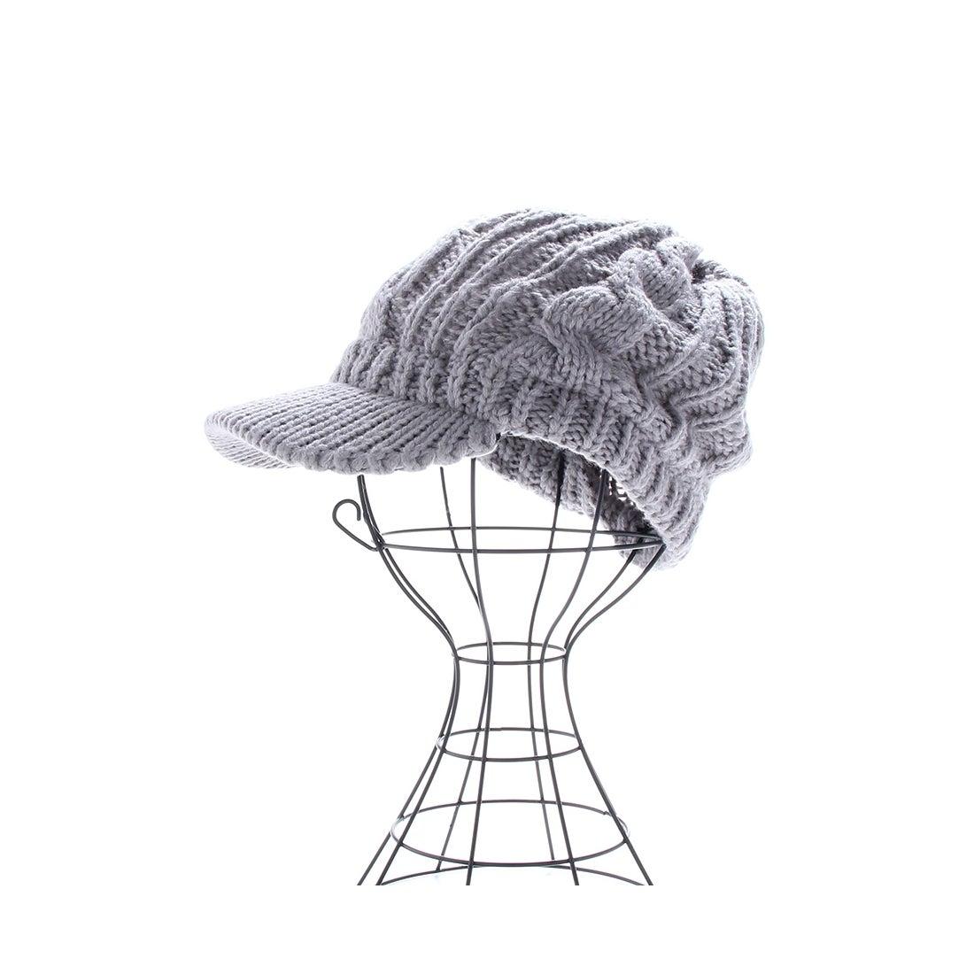 d.i.a. ニット帽 グレー