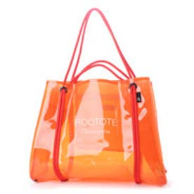 ルートート ROOTOTE SY.LAGUNA.ROO CLEAR-A ORANGE (ORANGE)