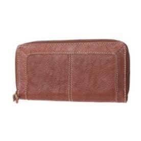 フェス fes カウレザーかぶせ型長財布 (ブラウン)