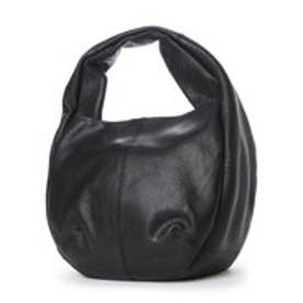 サライ sarai CIPOLLA カウレザーハンドバッグ (ブラック)
