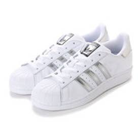 アディダス adidas SUPER STAR (WHITExSILVER)