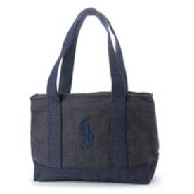 ポロラルフローレン POLO RALPH LAUREN PONY TOTE BAG (DENIM)