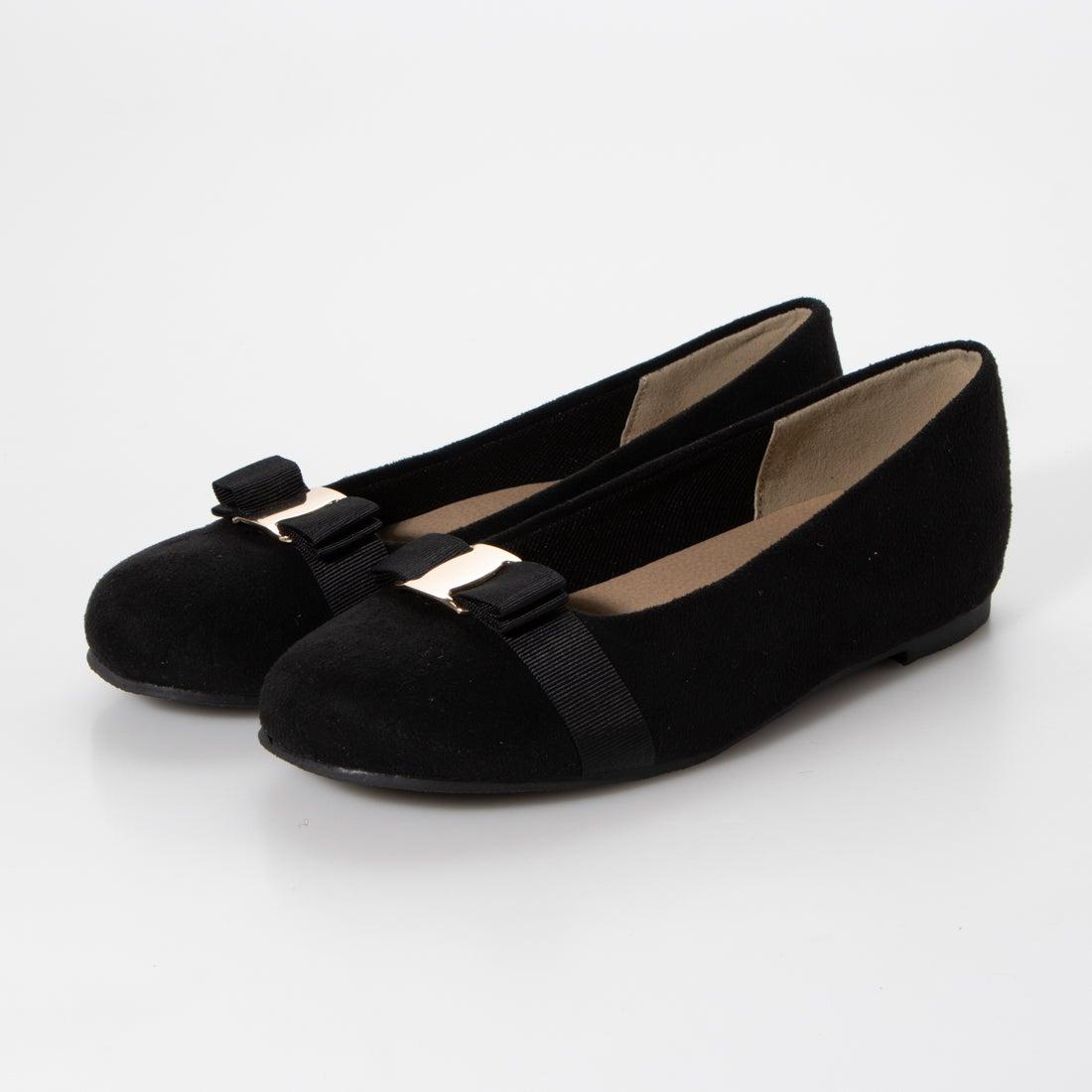 ロコンド 靴とファッションの通販サイトセスト SESTO ふわふわクッションのリボンつきパンプス (ブラック)