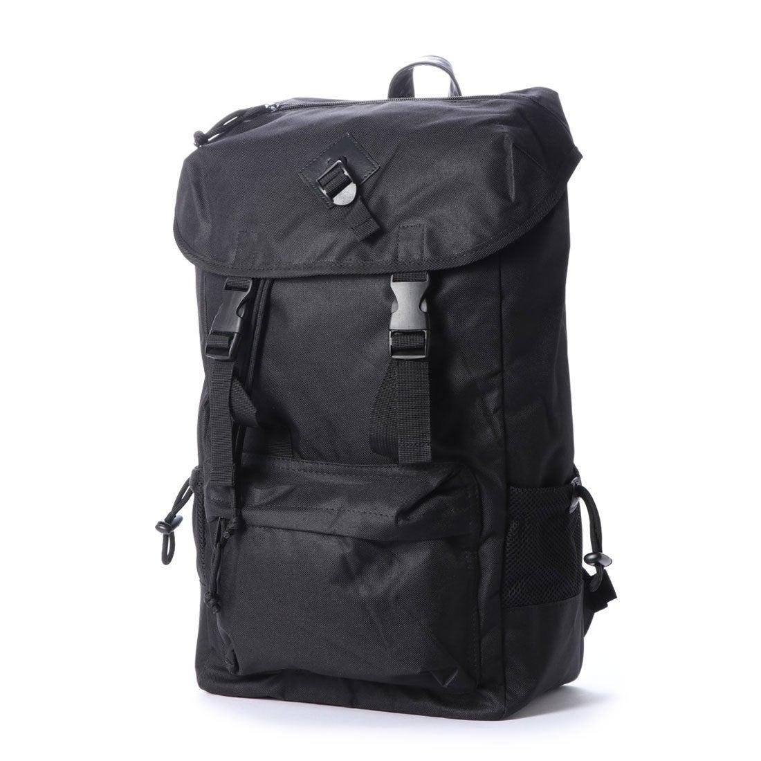 35fe2b1661c8 スタイルブロック STYLEBLOCK ナイロンフラップバックパック (ブラック) -靴&ファッション通販 ロコンド〜自宅で試着、気軽に返品