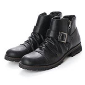 スタイルブロック STYLEBLOCK ベルト付きブーツ (ブラック)
