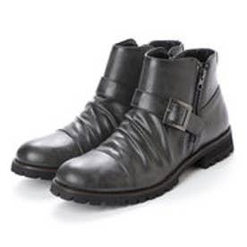 スタイルブロック STYLEBLOCK ベルト付きブーツ (グレー)
