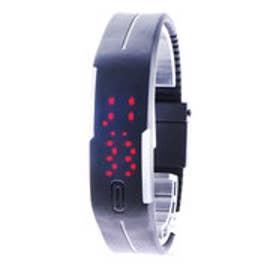 スタイルブロック STYLEBLOCK LEDバングルブレスレット腕時計 (ブラック)