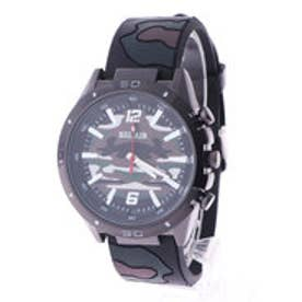 スタイルブロック STYLEBLOCK カモフラージュ柄腕時計 (グリーン)