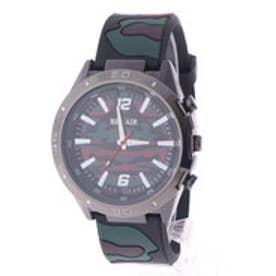 スタイルブロック STYLEBLOCK カモフラージュ柄腕時計 (レッド)