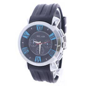 スタイルブロック STYLEBLOCK マルチカラーインデックス腕時計 (ブルー)