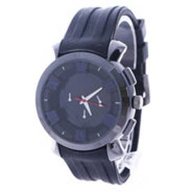 スタイルブロック STYLEBLOCK マルチカラーインデックス腕時計 (ネイビー)