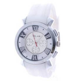 スタイルブロック STYLEBLOCK マルチカラーインデックス腕時計 (ホワイト)