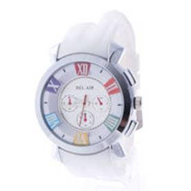 スタイルブロック STYLEBLOCK マルチカラーインデックス腕時計 (ホワイトマルチ)
