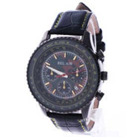 スタイルブロック STYLEBLOCK パイロット腕時計 (ブラックイエロー)