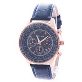 スタイルブロック STYLEBLOCK パイロット腕時計 (ゴールドブルー)