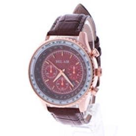 スタイルブロック STYLEBLOCK パイロット腕時計 (ゴールドブラウン)
